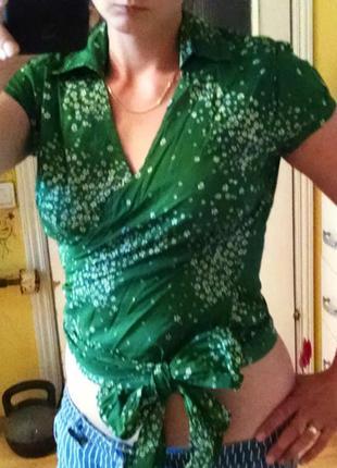 Фирменная блуза bon'a parte 42