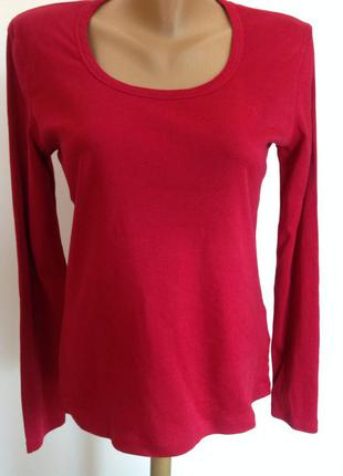 Базовая красная футболка. / l- xl/ brend esprit