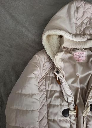Молочная курточка