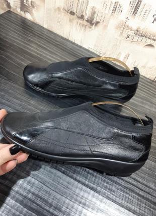 Деловая кожаные туфли aerosoles
