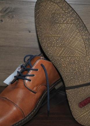 Туфли мужские из натуральной кожи rieker 13409-24. оригинал!!!2 фото