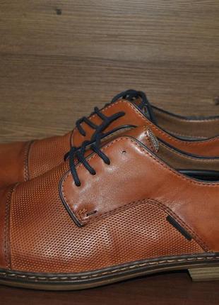 Туфли мужские из натуральной кожи rieker 13409-24. оригинал!!!3 фото