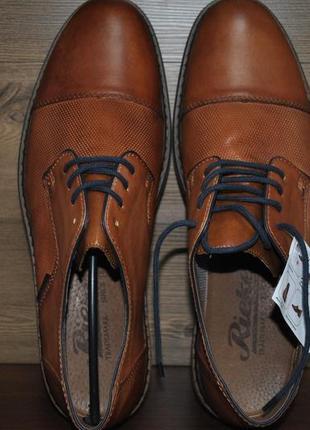 Туфли мужские из натуральной кожи rieker 13409-24. оригинал!!!4 фото