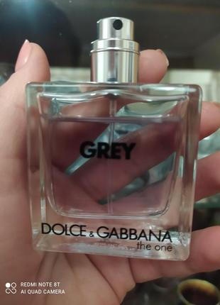 Духи grey dolce gabbana the one одеколон