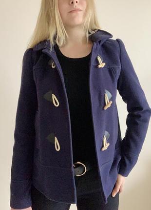 Укорочённое осеннее пальто