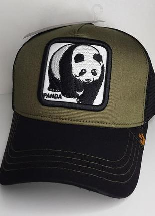 Кепка гурин бразерс гурін брос goorin bros панда хаки хакі