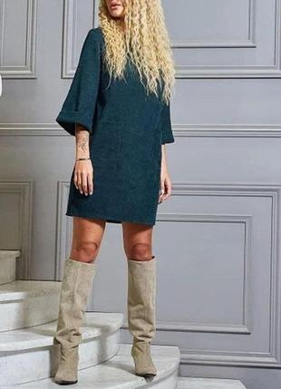 Супер вельвет платье
