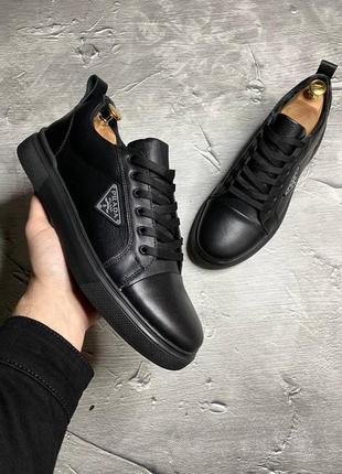 Туфли кеды prada