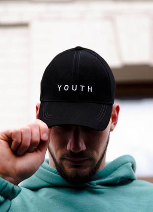 Распродажа! мужская кепка youth (логотип вышивка)