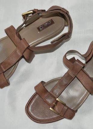 Босоніжки сандалі шкіра ecco розмір 41 40, босоножки кожа