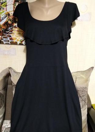 Маленькое черное платье вискоза