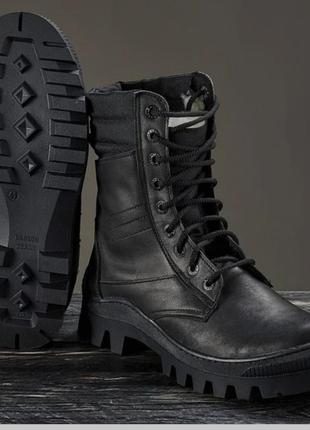Берци ботинки натуральная кожа робочие зима