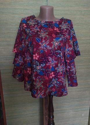 Крутая блузка colours of the world.
