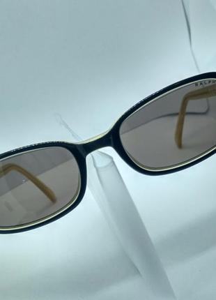 Винтажные очки ralph lauren 944 / s 5ms в черно-желтой оправе mint, оригинал