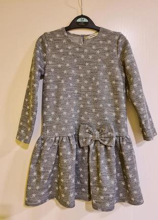 Трикотажное платье george 3-4 года