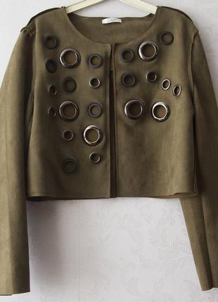 Очень стильный короткий пиджак