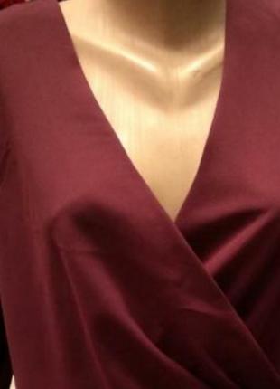 Блуза на запах.новая.обмен рассматриваю!