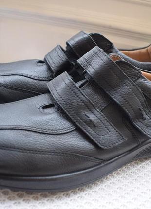Кожаные туфли мокасины jomos aircomfort р.47 31 см