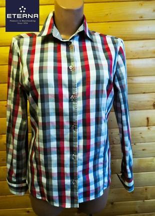203. высококачественная  хлопковая рубашка производителя элитных рубашек  eterna.