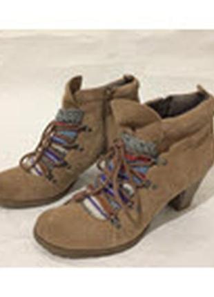 Ботинки замшевые 41 размер