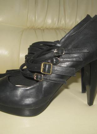Шикарные туфли с открытым носком