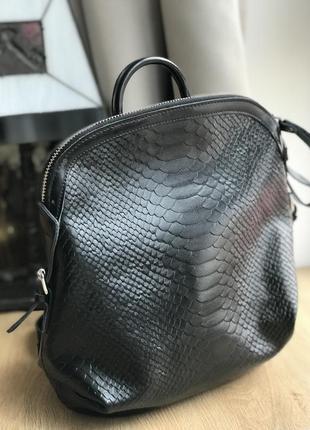 Городской рюкзак натуральная кожа новый
