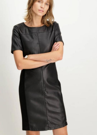 Garciy  кожаное платье плаття