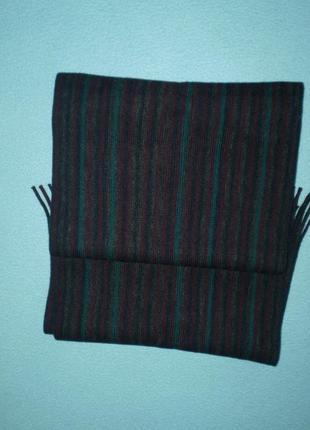 Новый мужской шарф marks&spencer, акрил