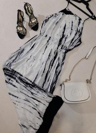 Лёгкое вискозное длинное платье размер м