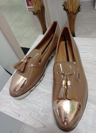 Туфли лофери балетки