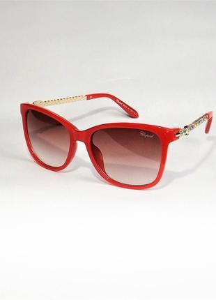 Очки солнцезащитные ;женские chopard 59с красные