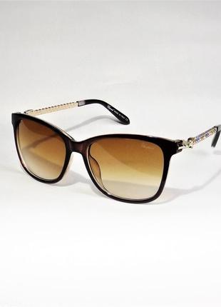 Очки солнцезащитные ;женские chopard 59с коричневые