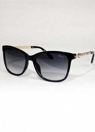 Очки солнцезащитные женские chopard 59с черные
