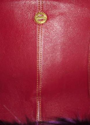 Большая брендовая кожаная сумка wrangler, оригинал