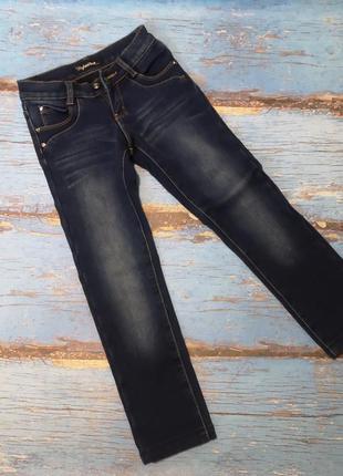 Джинси для дівчинки утеплені, джинсы утеплённые для девочки