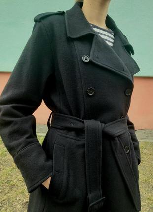 Пальто 80% шерсть