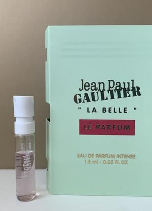 Jean paul gaultier la belle le parfum intense пробник
