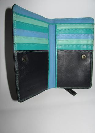 Кожаный кошелек из италии