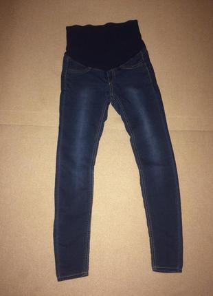 Мягкие джинсы для беременных h&m размер 8 38 в идеале