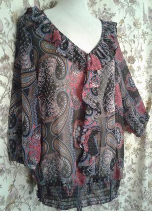 Шифоновая блуза. l- xl
