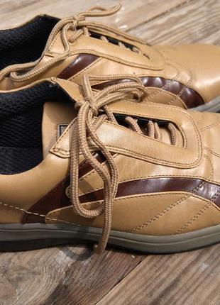 Комфортные мужские туфли в спортивном стиле speedо 42 разм