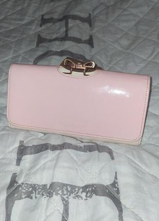 Шкіряний гаманець бренду ted baker оригінал