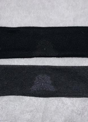 Спортивные флисовые тёплые повязки на голову