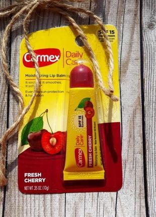 Carmex cherry бальзам для губ