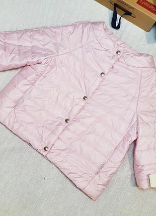 ‼️!!!распродажа в связи с закрытием магазина!!! короткая весенняя куртка на кнопках