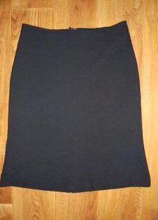 Классическая юбка h&m.класична чорна спідниця