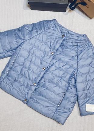 ‼️!!распродажа в связи с закрытием магазина!!короткая весенняя куртка на кнопках с вырезом
