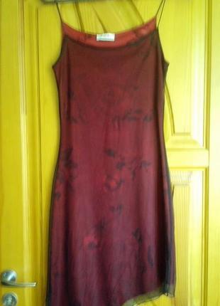 Красивое коктейльное  платье, сверху сетка,сост. новой вещи! новые джинсы дёшево!