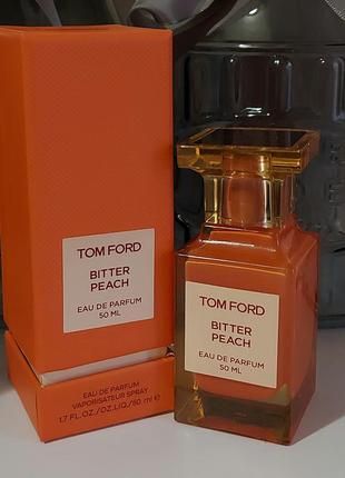 Bitter peach 🍑🍑🍑tom ford 5 ml eau de parfum, парфюмированная вода, отливант