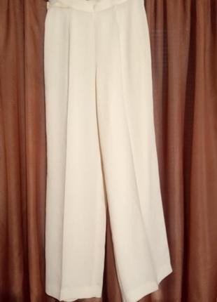 Широкие брюки палаццо biesse италия размер l/xl